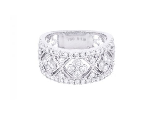 Image of White Gold and Diamond Ring