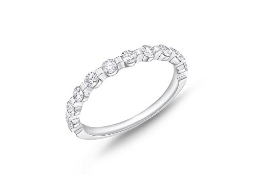 LaViano Jewelers Platinum Diamond Wedding Band