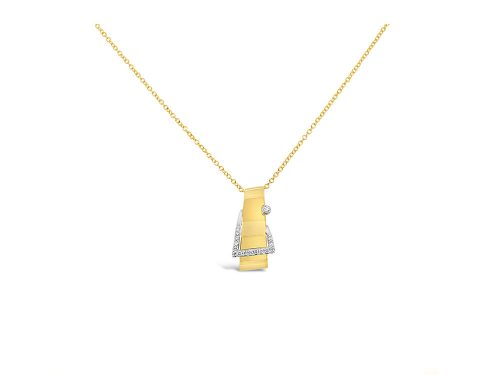 LaViano Jewelers 14K White Gold Buckle Necklace